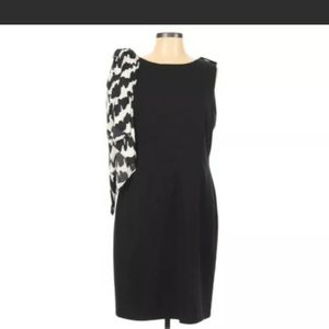 Tahari Arthur Levine dress s12 black dress